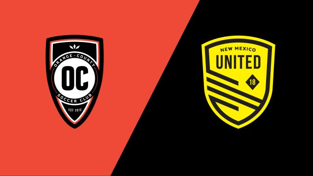 Orange County SC vs. New Mexico United (United Soccer League)