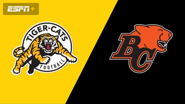 Hamilton Tiger-Cats vs. BC Lions (Canadian Football League)