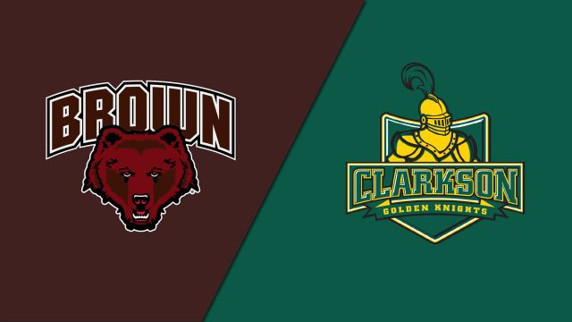 Brown vs. #6 Clarkson (W Hockey)