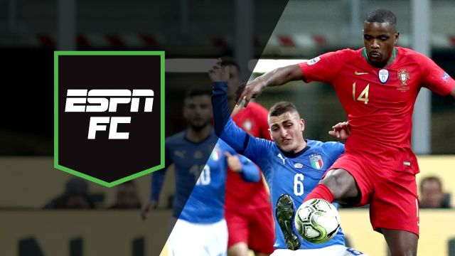 Sat, 11/17 - ESPN FC: Portugal and Italy face off