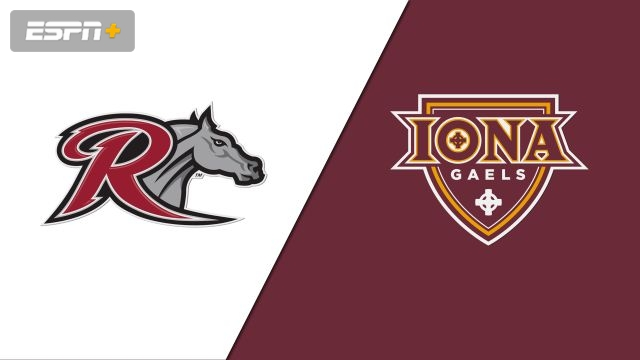 Rider vs. Iona (First Round) (M Soccer)