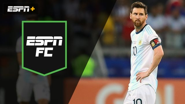Thu, 6/20 - ESPN FC: A Messi situation