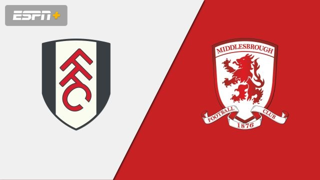 Fulham vs. Middlesbrough (English League Championship)