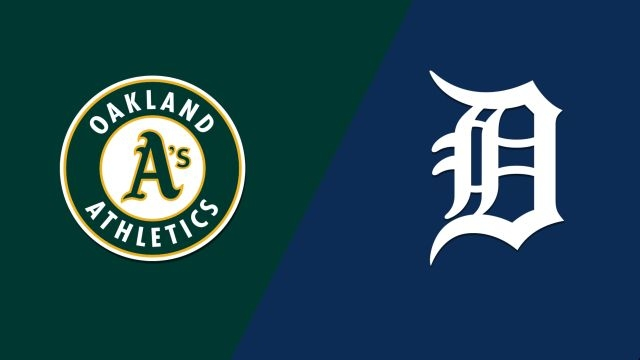 Oakland Athletics vs. Detroit Tigers