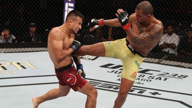 UFC 237: Namajunas vs. Andrade (Early Prelims)