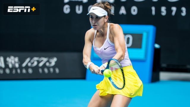 (6) Bencic vs. Ostapenko (Women's Second Round)