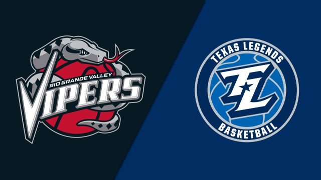 Rio Grande Valley Vipers vs. Texas Legends