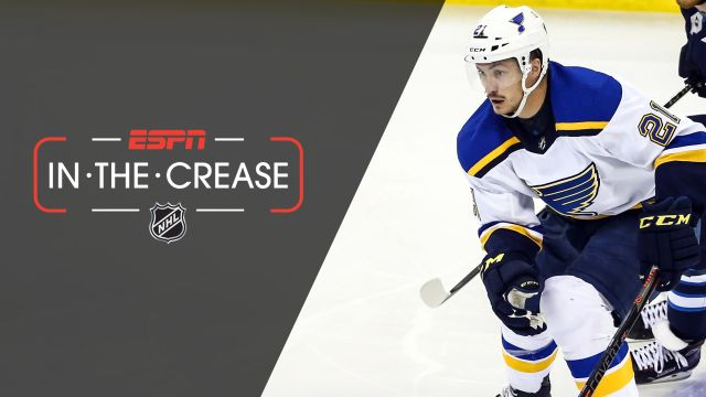 Fri, 4/19 - In the Crease: Blues aim to take series lead