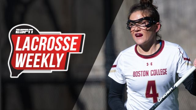 Wed, 3/27 - Lacrosse Weekly: BC women continue to roll