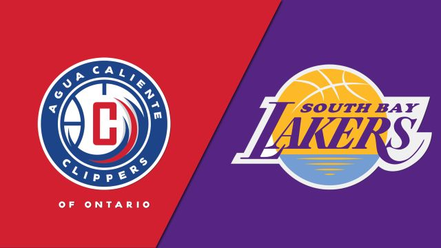 Agua Caliente Clippers vs. South Bay Lakers