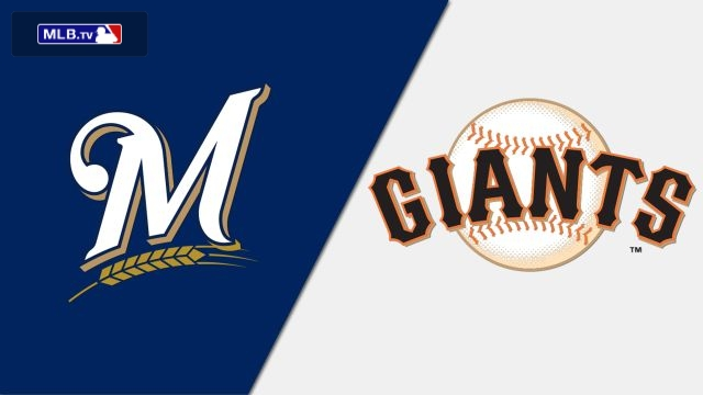 Milwaukee Brewers vs. San Francisco Giants