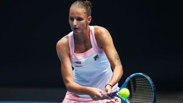 (7) Pliskova vs. Brengle (Women's Second Round)