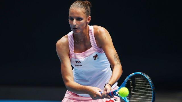 (7) Pliskova vs. Brengle (Women's Second Round)