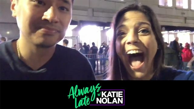 Wed, 10/10 - Always Late w/ Katie Nolan: Katie & Pablo Torre go to BOS-NYY Game 4
