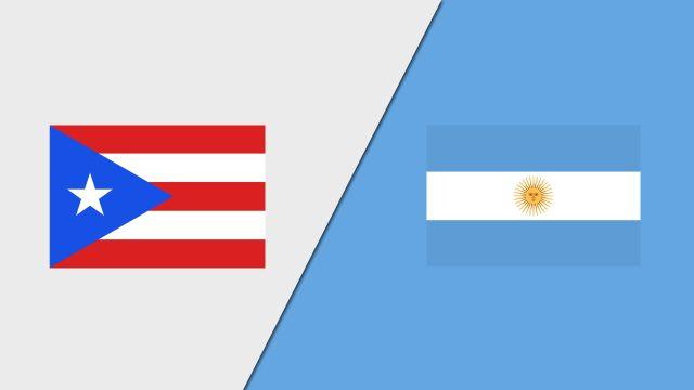 Puerto Rico vs. Argentina