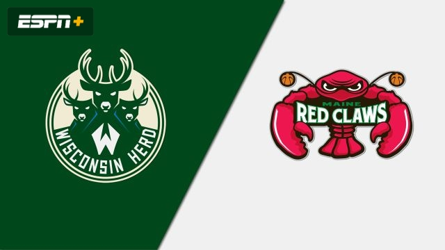 Wisconsin Herd vs. Maine Red Claws