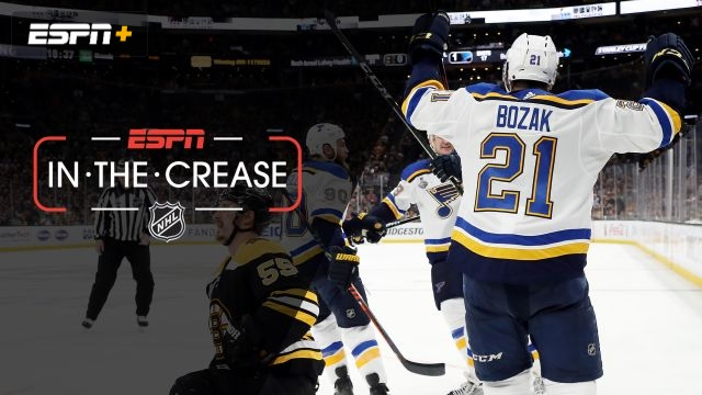 Fri, 6/7 - In The Crease: Blues seek road win in Boston