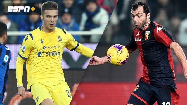 In Spanish-Hellas Verona vs. Genoa (Serie A)