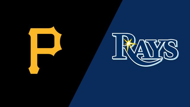 Pittsburgh Pirates vs. Tampa Bay Rays