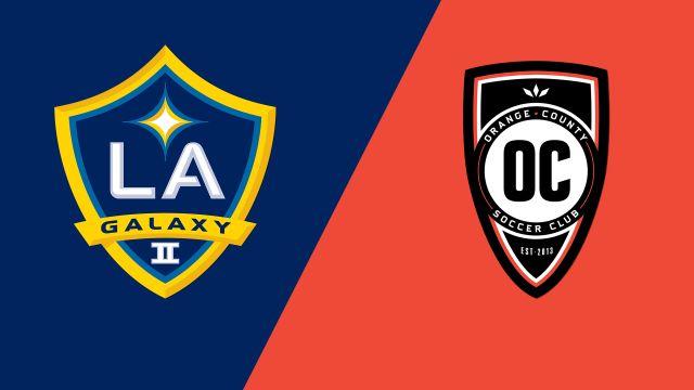 LA Galaxy II vs. Orange County SC