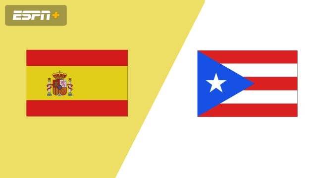 Spain vs. Puerto Rico (Group Phase)