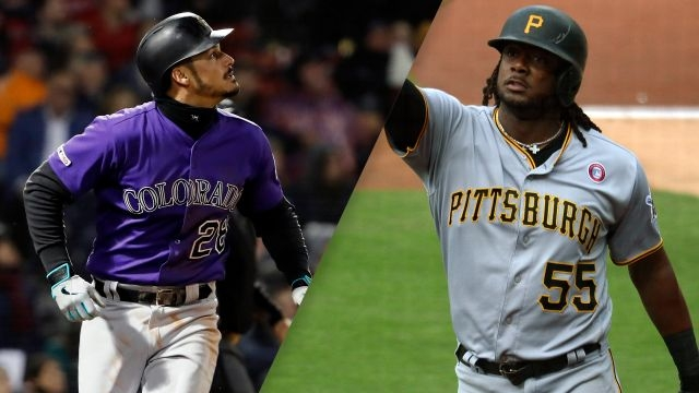 Colorado Rockies vs. Pittsburgh Pirates