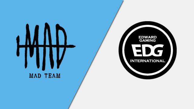 10/16 MAD Team vs. Edward Gaming