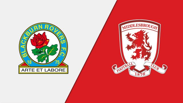 Blackburn Rovers vs. Middlesbrough (English League Championship)