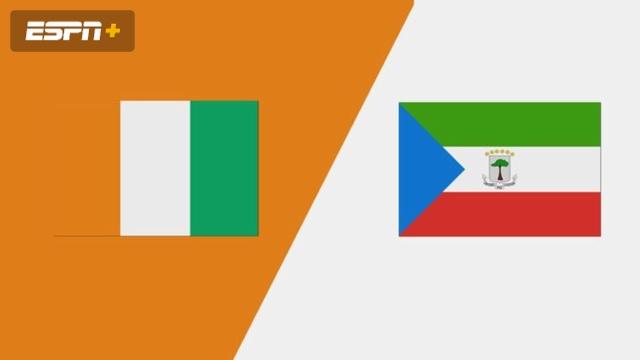 Cote D'Ivoire vs. Equatorial Guinea