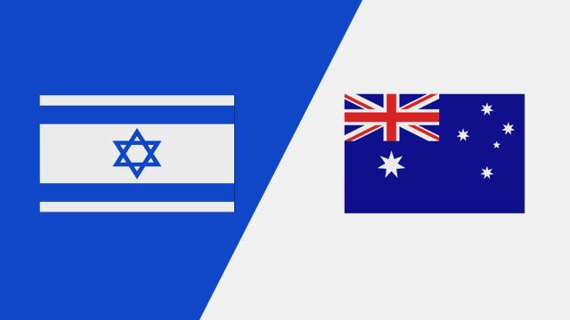 Israel vs. Australia (2018 FIL World Lacrosse Championships)