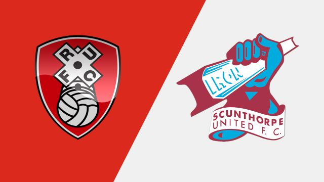 Rotherham United vs. Scunthorpe United (Semifinals, Second Leg) (English League One Playoff)