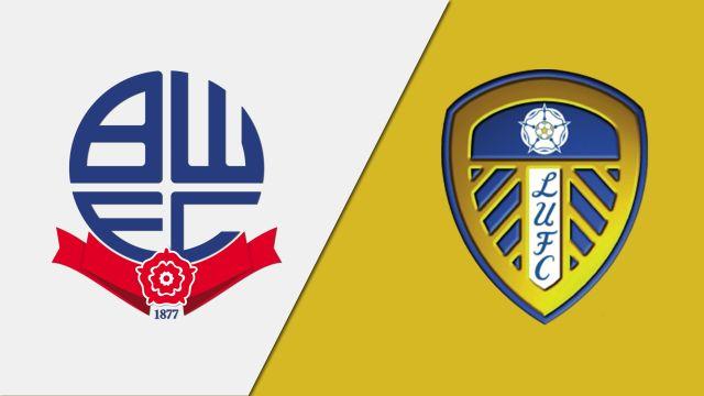 Bolton Wanderers vs. Leeds United (English League Championship)