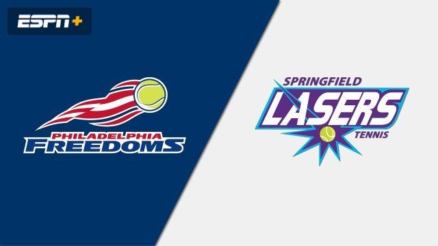 Philadelphia Freedoms vs. Springfield Lasers