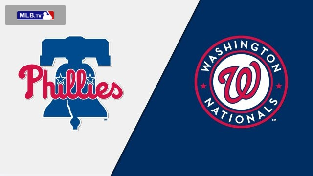 Philadelphia Phillies vs. Washington Nationals
