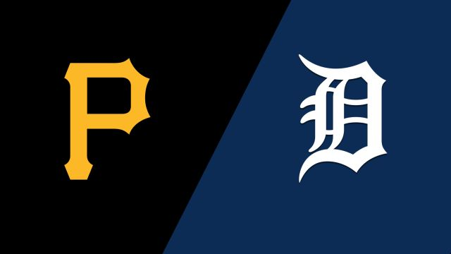 Pittsburgh Pirates vs. Detroit Tigers