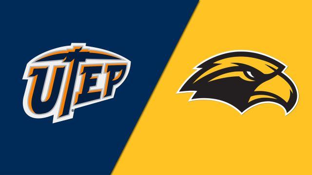 UTEP vs. Southern Miss (M Basketball)