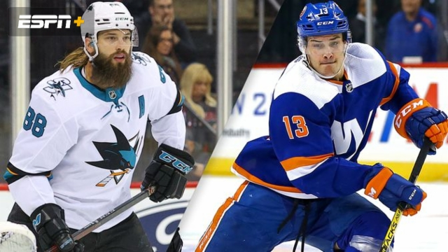 San Jose Sharks vs. New York Islanders