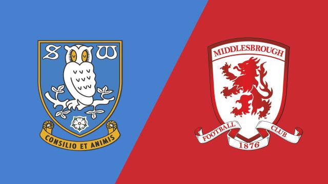 Sheffield Wednesday vs. Middlesbrough (English League Championship)