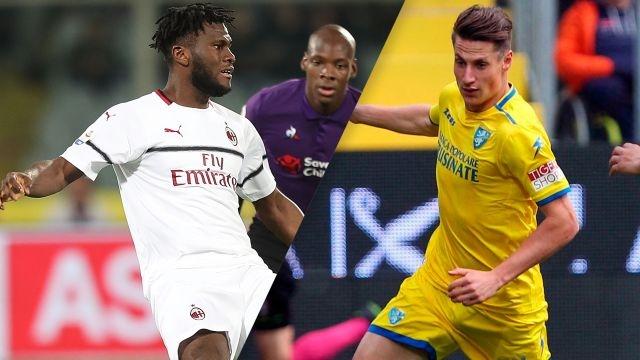 AC Milan vs. Frosinone (Serie A)
