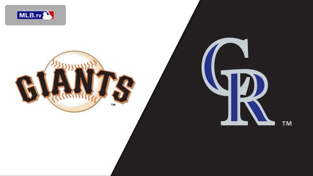 San Francisco Giants vs. Colorado Rockies