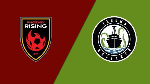 Phoenix Rising FC vs. Tacoma Defiance (USL Championship)