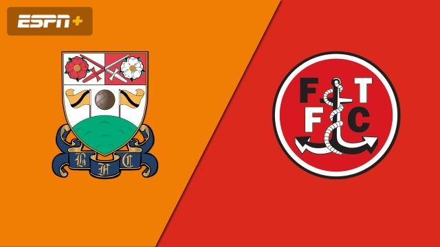 Barnet vs. Fleetwood Town (Round 1) (FA Cup)