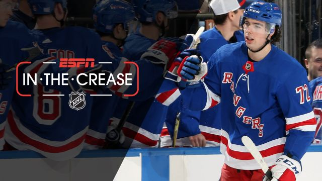 Mon, 11/12 - In the Crease: Rookies lead Rangers