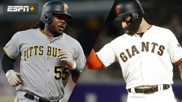 Pittsburgh Pirates vs. San Francisco Giants