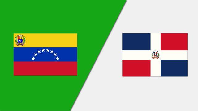 Venezuela vs. Dominican Republic (FIBA World Cup Qualifier)
