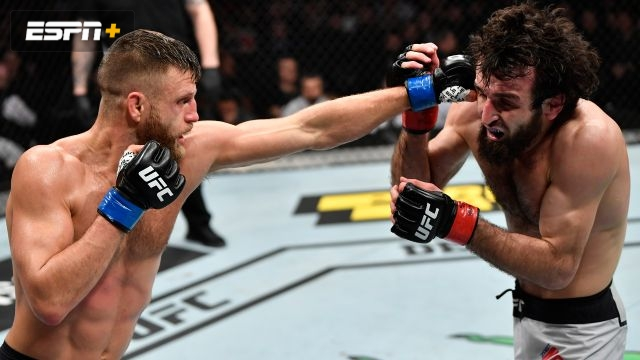 In Spanish - Zabit Magomedsharipov vs. Calvin Kattar (UFC Fight Night: Zabit vs. Kattar)