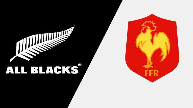New Zealand vs. France (International Rugby)
