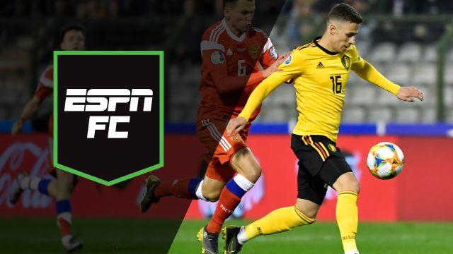 Thu, 3/21 - ESPN FC: Battle in Brussels