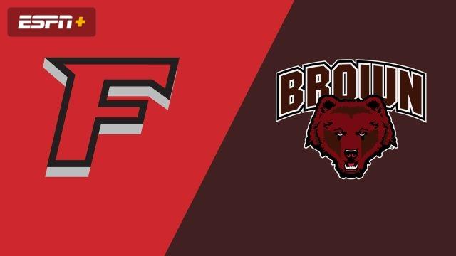 Fairfield vs. Brown (W Soccer)