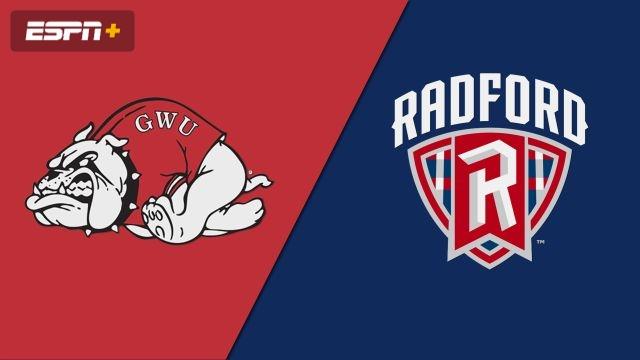 Gardner-Webb vs. Radford (W Soccer)
